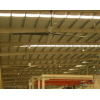 Wholesale Four Blade 14ft Large Industrial Ceiling Fan , Low Rotating Speed Ceiling Exhaust Fan from china suppliers