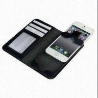Buy cheap 2012 Latest New Book Design PU Leather Case/Cover for iPhone, Easy to Insert and from wholesalers