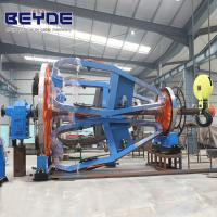 Wholesale Cable Manufacturing Equipment Assemble Holder , Big Bearing Laying Up Machine from china suppliers
