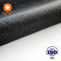 Wholesale Needle Punched Non Woven Polyester Felt Cloth Grey , Green , White , Black from china suppliers
