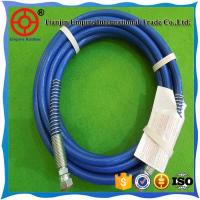 Wholesale SAE 100 R8 3/8'' inch blue synthetic fiber reinforced  thermoplastic hydraulic rubber hose from china suppliers
