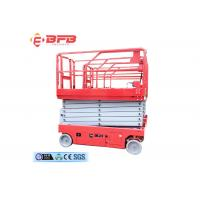 Wholesale China factory supply hydraulic self-propelled scissor lifting platform  12m lifting height from china suppliers