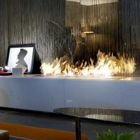China Automatic Bio Ethanol fireplace AF120 with remote control on sale