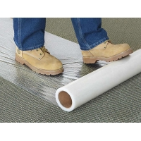 Wholesale Fire Retardant Clear 100micron 4 Mil Carpet Protection Film Anti Foot Traffic from china suppliers
