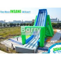 Wholesale Customized 5k Slingshot Giant Inflatable Slide For Adults 0.55mm PVC Tarpaulin from china suppliers