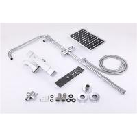 Wholesale Lead Free Bath Shower Accessories Spray Liftable Faucet Set Chrome Plated from china suppliers