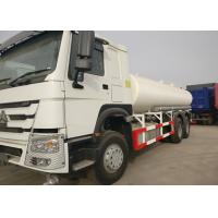 Buy cheap White Stainless Steel Heavy Duty Water Truck RHD 266HP Horse Power 80R22.5 Tire from wholesalers