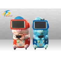 China Blue And Red VR Game Machine With 10 PCS Games Supported Coin System on sale