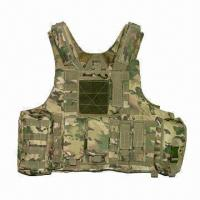 Wholesale Bulletproof Vest/Body Armor/Tactical Jacket, Made of Kevlar  from china suppliers