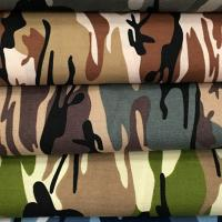 Military Camouflage Printed Fabric image