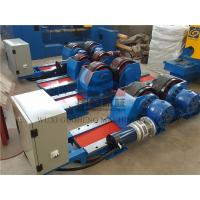 Quality Bolt Adjustable type Pipe Welding Rotator with Siemens DC Motor / Pipe Rotators for Welding for sale