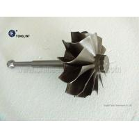 4LGZ 86.3mmX96mm Turbocharger Parts Turbo Turbine Wheel and Shaft Turbine shaft rotor for sale