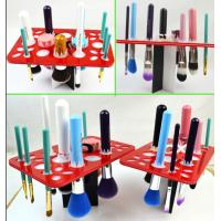Wholesale Simple Acrylic Makeup Storage , Puff Eye Shadow Pen Cosmetic Display Stands from china suppliers