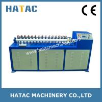 China Multi-blade Thick Paper Core Cutting Machine,Paper Tubes Cutter Machine,Paper Core Recutter on sale