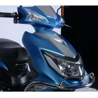 China 1200w Electric Moped Scooter With Pedals , Electric Road Scooter / Street Scooter  on sale