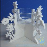 Wholesale CH (20) Acrylic taper candle holder from china suppliers