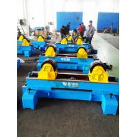 Buy cheap Tank Turning Rolls Rotate 10Ton Motorised Move On Rails Hydraulic transverse swing from wholesalers
