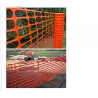 Wholesale Superior Quality Durable Barricade Net Barrier Fence Plastic Safety Net from china suppliers