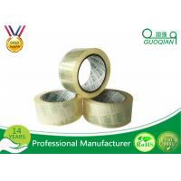 Quality Low Noise Transparent Crystal Clear Tape Environment Protection Fragile for sale