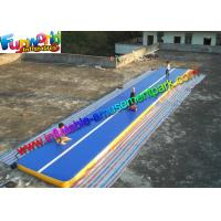 China Gym Inflatable Air Track , Inflatable Sport Mattress Games 14 x 2 x 0.2 on sale