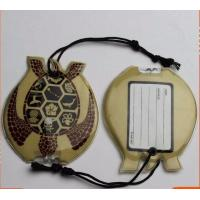 Wholesale Personalised Luggage Labels , Childrens Luggage Tags With Soft PVC Rubber Material from china suppliers