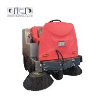 China C350 Ride On Mechanical Auto Floor Cleaning Machine Spraying Automatic Electric Battery Road Floor Sweeper for sale