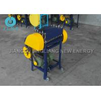Quality Scrap Copper Cable Stripping Machine / Copper Wire Peeling Machine Compact for sale