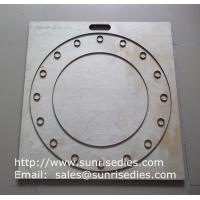 Buy cheap Large board silicon gasket steel cutting dies, rubber gasket steel die cutters from wholesalers