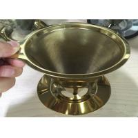 Wholesale Espresso Grind Stainless Steel Filter , Flavored Kone Pour Over Coffee Filter from china suppliers