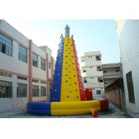 Wholesale Colourful  Inflatable Interactive Indoor Inflatable Climbing Wall Hire from china suppliers