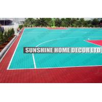 Wholesale Anti Uv PP Synthetic Interlocking Sports Flooring For Football Field from china suppliers