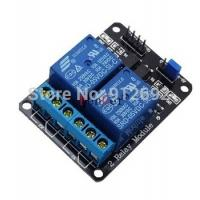 Wholesale 2 channel relay module relay expansion board for arduino 5V low level triggered 2-way from china suppliers