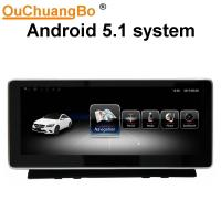 Buy cheap Ouchuangbo 10.25 inch car audio radio for Mercedes Benz C Class W204 C200 C220 2008-2010 android 5.1 from wholesalers