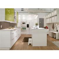 Wholesale Custom Kitchen Storage Cabinets With  Marble / Granite / Quartz Stone Countertop from china suppliers