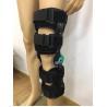 KN -07 Telescope Orthotic Knee Brace Black Color Post Op OEM ODM Service for sale