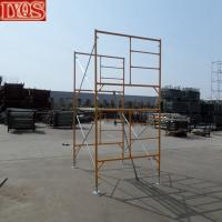 Wholesale Masonry Frame Drop Lock Bracing Scaffolding Section Frame from china suppliers