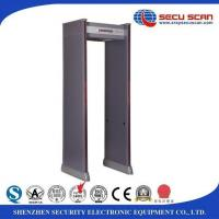 China 6 zoon Indoor use Walk - Thru Metal Detector for school access safety inspection on sale