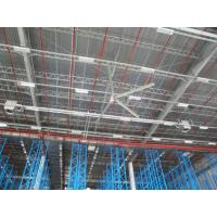 China High volume low speed HVLS Ceiling Fans installed in industrial warehouse on sale