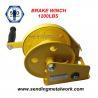 Buy cheap Hand Winch 1200lbs Trailer Winch Boat Winch Brake Winch from wholesalers