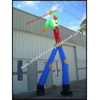 China Durable Rip Stop Nylon Wacky Inflatable Arm Man For Advertisement on sale