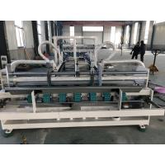 China Automatic Siemens Corrugated Carton Box Folder Gluer With PE Strapper Machine for sale