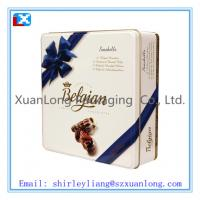 Wholesale Square Biscuit Cookies Tin Box from china suppliers