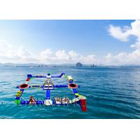 Wholesale Inflatable Aquatic Park Playground Equipment Water Obstacle Course from china suppliers