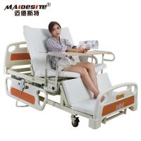 Buy cheap Healthcare Back Lift And Leg Rest , Turn Over Electric Home Beds With Toilet from wholesalers