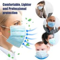 Wholesale Antibacterial Disposable Surgical Mask Splash Repellent For Medical Staff from china suppliers