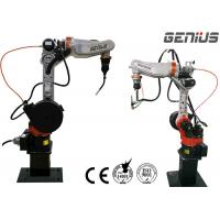 Articulated Industrial Arc Welding Robot AC Motor Driving For Stainless Steel for sale