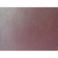 Wholesale Soft Handfeeling Embossed Leather Upholstery Material with Various Color for Decorative from china suppliers