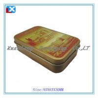 Wholesale candy slide small mints tin from china suppliers