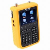 Wholesale Satellite Finder for DVB-S DVB-T Combo Meter, 3,000mAh Li-ion Battery Capacity from china suppliers