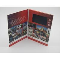 Wholesale Business Paper Lcd Video Mailer , Lcd Invitation Card A4 / A5 / A6 Finish Size from china suppliers